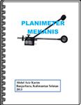 CeBook Planimeter Mekanis
